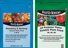 Fertilome Blooming Plant Fertilizer 3 lb 9-58-8 + All Purpose Food 3 lb 20-20-20