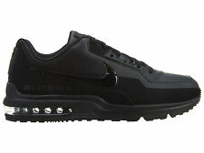 Nike Air Max LTD 3 Mens 687977-020 Black Leather Athletic Running Shoes Size 9.5