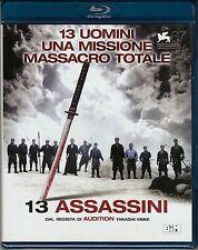 Blu-ray **13 ASSASSINI** 13 uomini una missione massacro totale Nuovo 2011