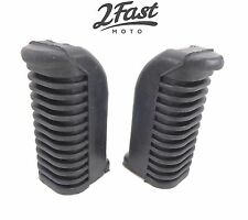 Yamaha Footrest Footpeg Covers Front Foot Rest Peg Rubbers FJ 600 RD 400 NEW