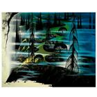 """Eyvind Earle """"Beauty Beyond Believing"""" Hand-Signed Limited Edition Serigraph COA"""