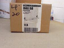 "Baldwin 3648.150.24 PEYTON 24"" Glass Shelf -SATIN NICKEL"
