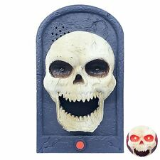 Halloween Hanging Doorbell With Lights & Sounds Party Decorations ~ Scary...