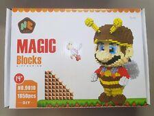 Nano Diamond Magic Block Minifigures No.9010 1850pcs Super Mario Au Express post