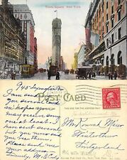 USA New York - New York - Times Square WITH TROLLEY YEAR 1914 (A-L 677)