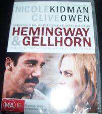 Hemingway & Gellhorn (Nicole Kidman Clive Owen) (Australia Region 4) DVD – New