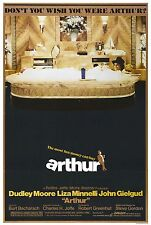 """""""Arthur""""...Dudley Moore Liza Minelli..Classic Comedy Movie Poster  A1A2A3A4Sizes"""