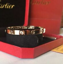 Carter Love Bracelet Screwdriver with BOX, certificate and bag - Rose Gold + gem