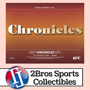 21 Chronicles UFC 6 Hobby Box Half Case Break 10/21 2pm CST Jon Jones