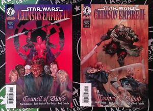 Star Wars Crimson Empire II #1-6 Complete Set Dark Horse 1998 Kir Kanos Vader
