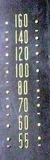 "vintage * CROSLEY 56TZ  RADIO:  GLASS STATION BAND DISPLAY  6 & 1/8"" X 1 & 7/8"""