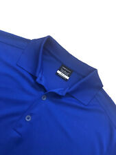 Premium Mens NIKE GOLF POLO T-Shirt Top Tee Casual Sports Dri - Fit Royal Blue M