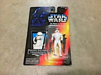 RARE 1995 Star Wars square red card French Canadian POTF Stormtrooper figure!