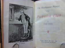 "CHARLES DICKENS VOL.1 ""THE POSTHUMOUS PAPERS OF THE PICKWICK CLUB"