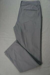 Nike Dri-Fit Women's Lightweight Flat Front Stretch Golf Pants. Women's 8, EUC!!