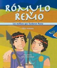 Romulo y Remo.  Los mellizos que fundaron Roma (Mitos Para Niños)-ExLibrary