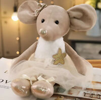 "Cute Mouse Ballerina Doll Baby  Plush Toy Soft Stuffed Animal 42cm / 16.5"""