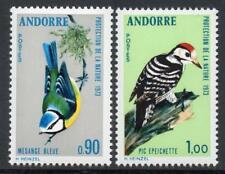 ANDORRA(FRENCH) MNH 1973 SGF251-2 Nature Protection,Birds