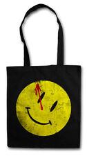 Bloody Button Tessuto Borsa Watchmen Heroes Cleese TV SMILE the logo simbolo