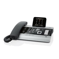 Gigaset DX800A all in one Telefon titanium 3,5 Zoll Bluetooth LAN-Switch