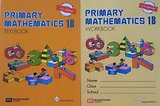 Singapore Math® Primary Mathematics 1B Text and Workbook Set US Edition - New
