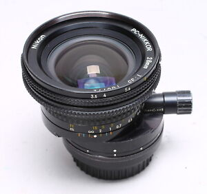 NIKON PC NIKKOR 28MM F/3.5 SHIFT LENS No. 180772 AiS