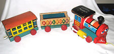 Fisher Price Huffy Puffy Train - #999 - 3 pieces
