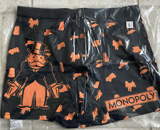 Loot Crate Monopoly Boxer Shorts Size L Unopened
