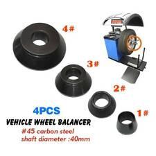 4pcs/set Wheel Balancer Taper Cone Standard Vehicle Tools 40mm Shaft for Tire