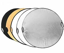 "80cm 32"" 5 in 1 Handheld Portable Collapsible Reflector Board Disc for Studio"