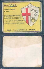 R@RA FIGURINA CALCIATORI PANINI 1961/62-PADOVA-DA RECUPERO