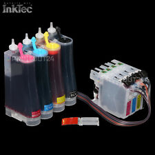 CISS InkTec Tinte ink kit für Brother DCP-J752DW DCP-J4110DW DCP-J4110W MFC-J245