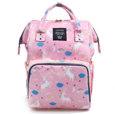 Large Colorful Mom Mummy Diaper Bag Travel Backpack Maternity Nappy Baby Bags