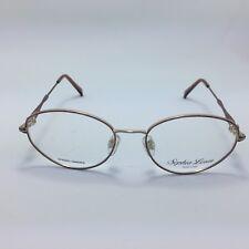 0fba13f8ec Sophia Loren Zyloware M86 Eyeglasses Frames Brown Round Full Rim 52-17-140