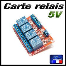 5187# carte 4 relais 5v low ou high trigger - projet Arduino raspberry...