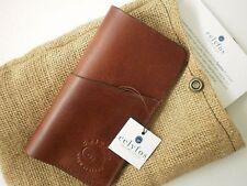 Celyfos ® Handmade iphone 6 plus Italian leather case sleeve wallet card holder