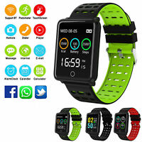 Cardiofrequenzimetro impermeabile impermeabile Smart Watch per iOS Android