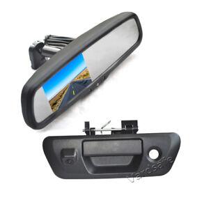 Vardsafe Reverse Camera & Rear View Mirror Monitor for Nissan NP300 Navara D23