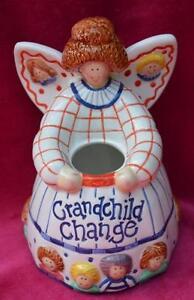 """Word/Money Jar """"GRANDCHILD CHANGE"""" - Pennies From Heaven"""