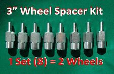 "3"" ATV WHEEL SPACERS (8 piece set) fit all YAMAHA Grizzly Kodiak & Banshee"