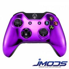 Xbox One 1 Custom Wireless Controller (Chrome Purple Standard) New 3.5mm jack