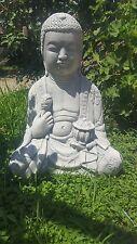 Statua Budda buddha in cemento e polvere di marmo esterno giardino zen e interno