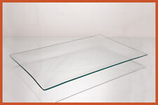"""9"""" X 14"""" Rectangle Clear """"BENT"""" Glass Plate 1/8"""