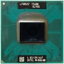CPU Intel Dual Core DUO T5600 1,83/2M/667 SL9SG processore per HP COMPAQ NX9420