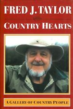 TAYLOR FRED J BOOK COUNTRY HEARTS A GALLERY OF COUNTRY PEOPLE hardback NEW