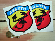 Abarth Fiat Tune Sport Carrera Rally Motorsport Stickers