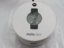 Motorola Moto 360 (1st Gen) Smartwatch with Heart Rate Monitor - Black