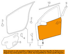 TOYOTA OEM 12-16 Prius C-Door Skin Outer Panel Right 6711152230