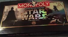 MONOPOLY Star Wars Game Classic Trilogy Edition (1997) Parker Brothers COMPLETE!