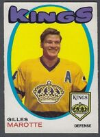 1971-72 O-Pee-Chee Los Angeles Kings Hockey Card #151 Gilles Marotte